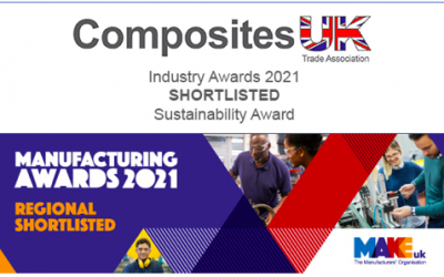 Longworth shortlisted for three national industry awards